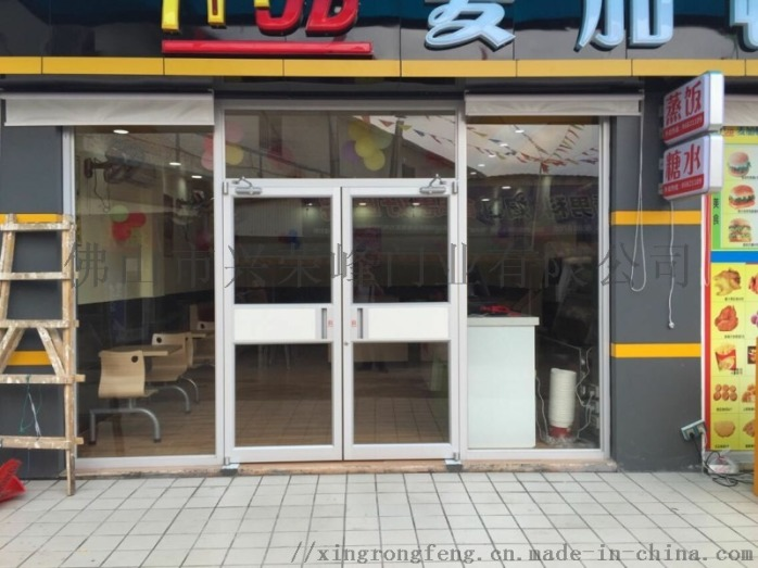 梅州商鋪門 服務區鋁型材推拉門96613905
