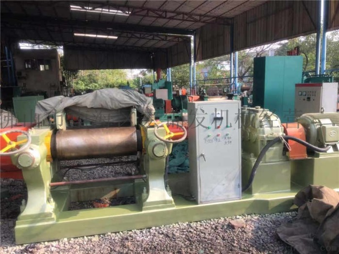 二手電熱型塑料混煉機 雙輥筒矽膠煉膠機 六寸橡膠開煉機96864512