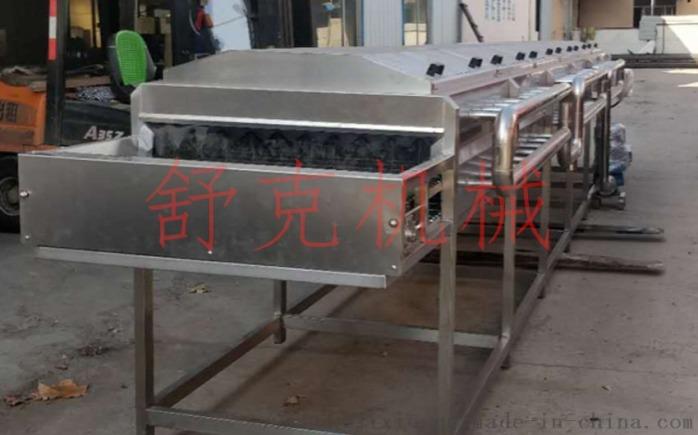 全自动包芯丸连续蒸线肉制品蒸汽隧道97294732