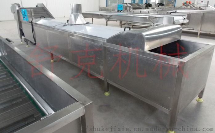全自动包芯丸连续蒸线肉制品蒸汽隧道97294722