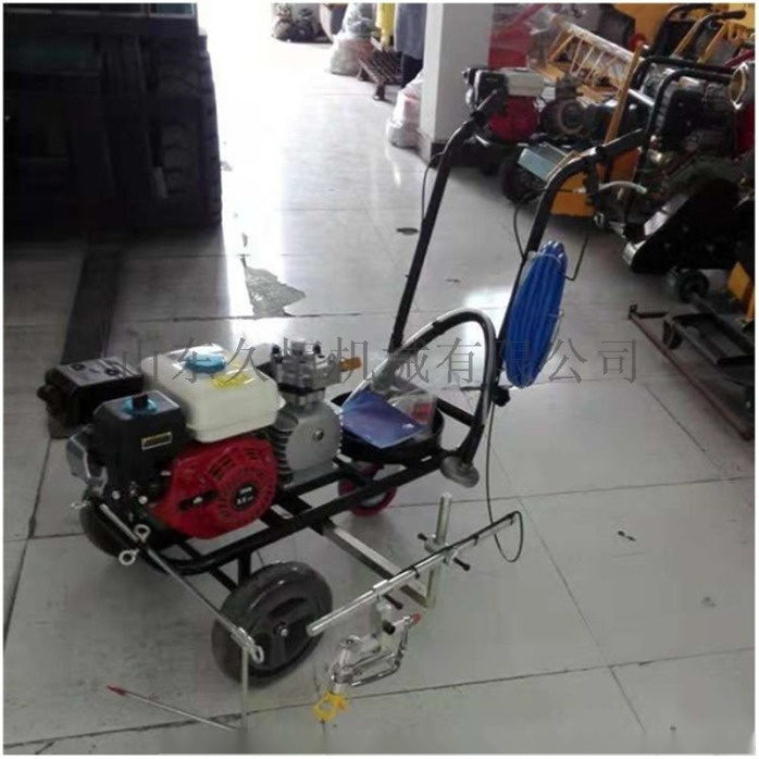 停車位劃線機 路政專用標線機 手推式汽油劃線機812750032