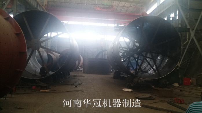 高岭土煅烧回转窑设备厂家如何选择河南华冠98322842