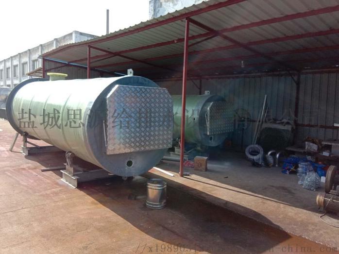 地埋式一体化污水泵站的操作流程817743165