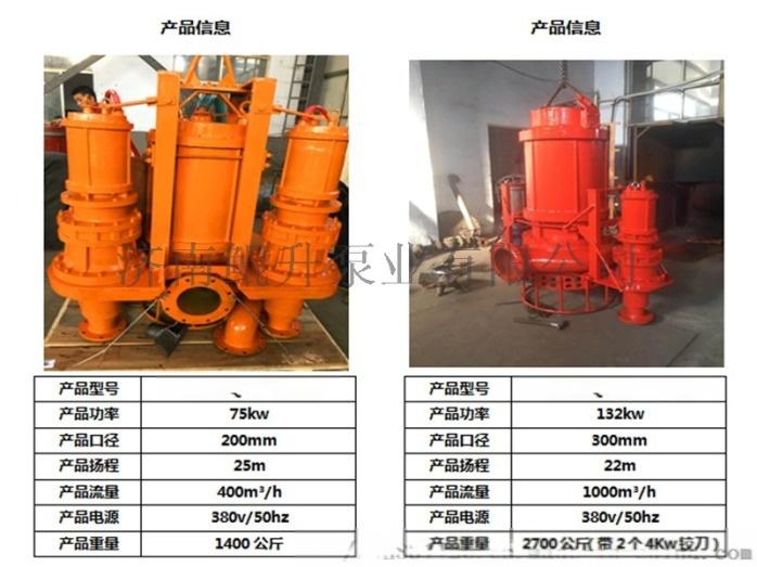 高温潜水排砂泵_耐高温潜水渣浆泵813348932