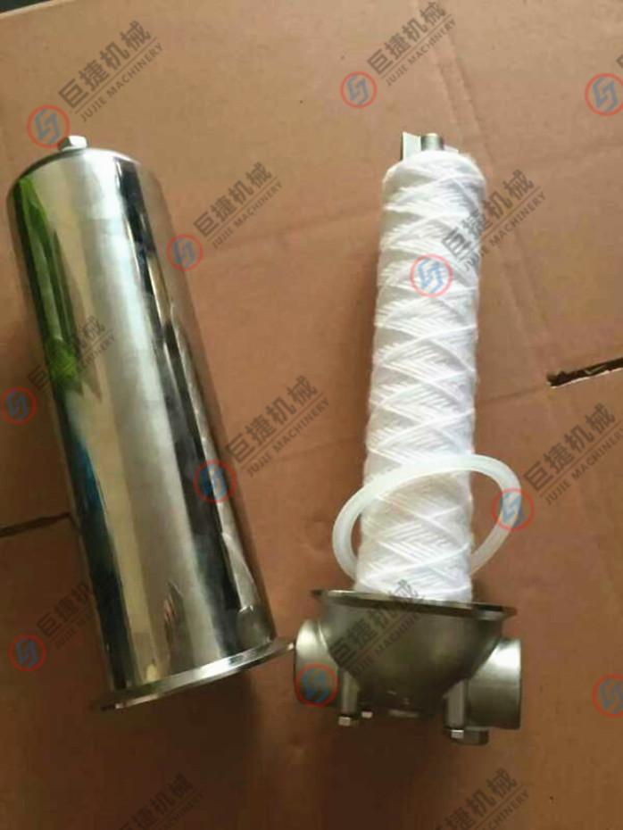不锈钢前置过滤器/单级管道式净水器/单芯过滤器37657695