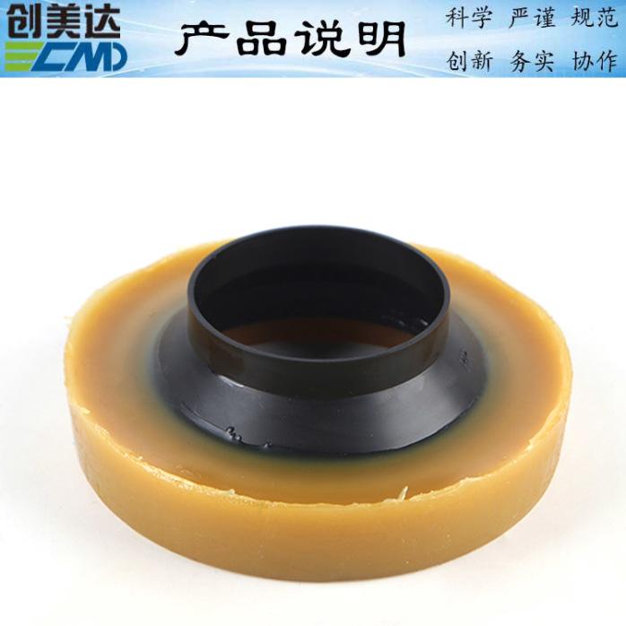 茂名法兰密封圈尺寸马桶配件法兰加厚密封圈选择创美达818847625