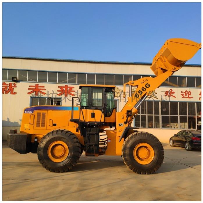 厂家直销50装载机 山工版铲车 可配抓木机79593732