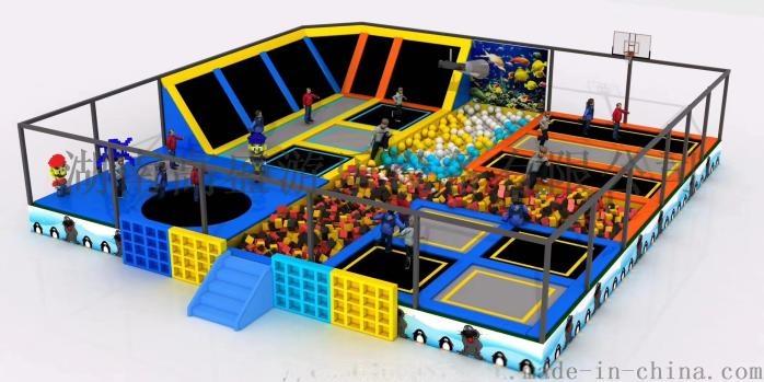湖南游乐设备厂家,室内儿童淘气堡乐园生产厂家819269785