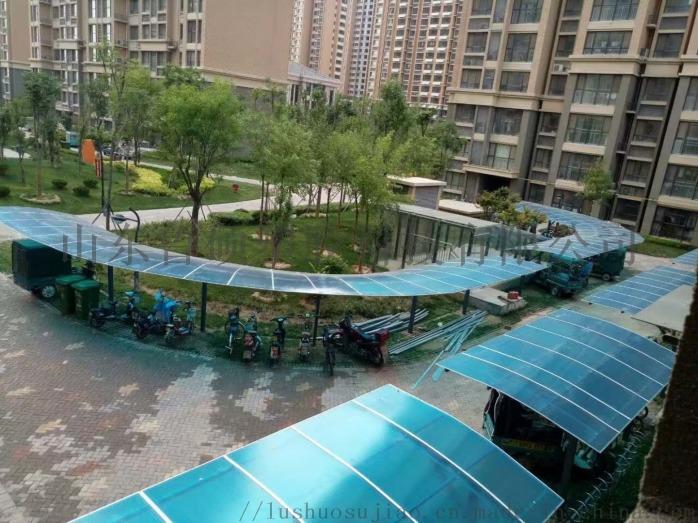 济南阳光板雨棚