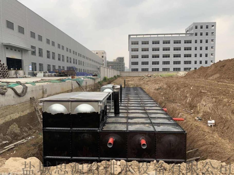 地埋消防水池泵房的内部结构分布820183945