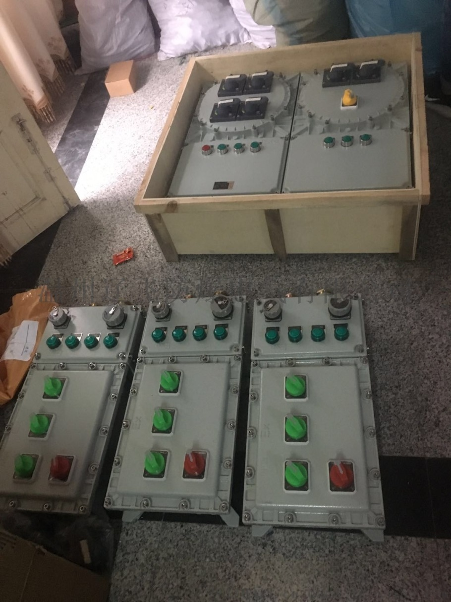 戶外明裝防雨型防爆配電箱817141712