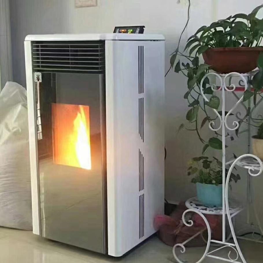 2019新型暖气炉 生物质燃木颗粒壁炉 取暖炉价格820191262