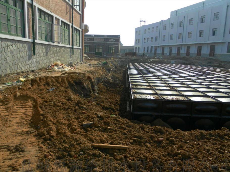 关于抗浮地埋式消防泵站的基础做法830696535