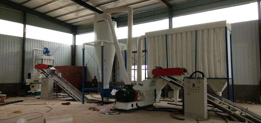 板材废料颗粒机 木屑制粒机 山东生物质颗粒机生产线109036942