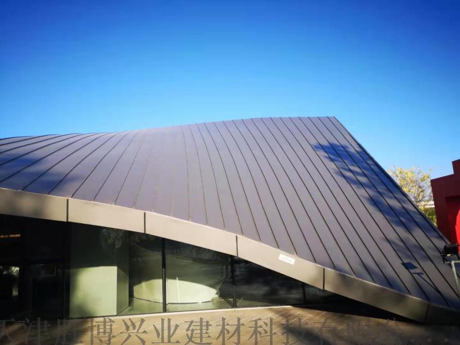 25-300型铝镁锰压型板 别墅金属屋面外装板110513662