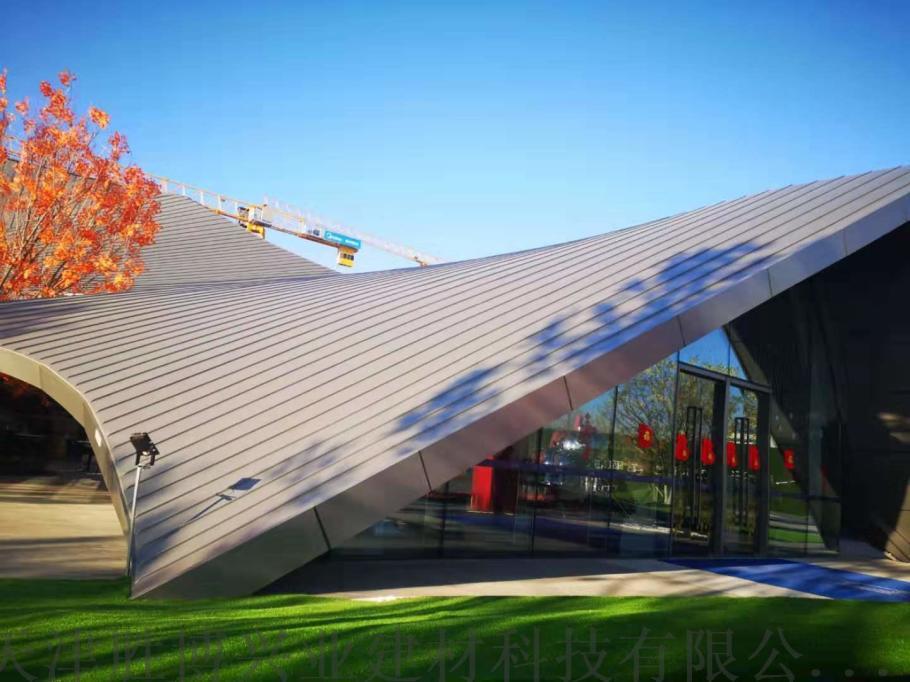 25-300型铝镁锰压型板 别墅金属屋面外装板110513732