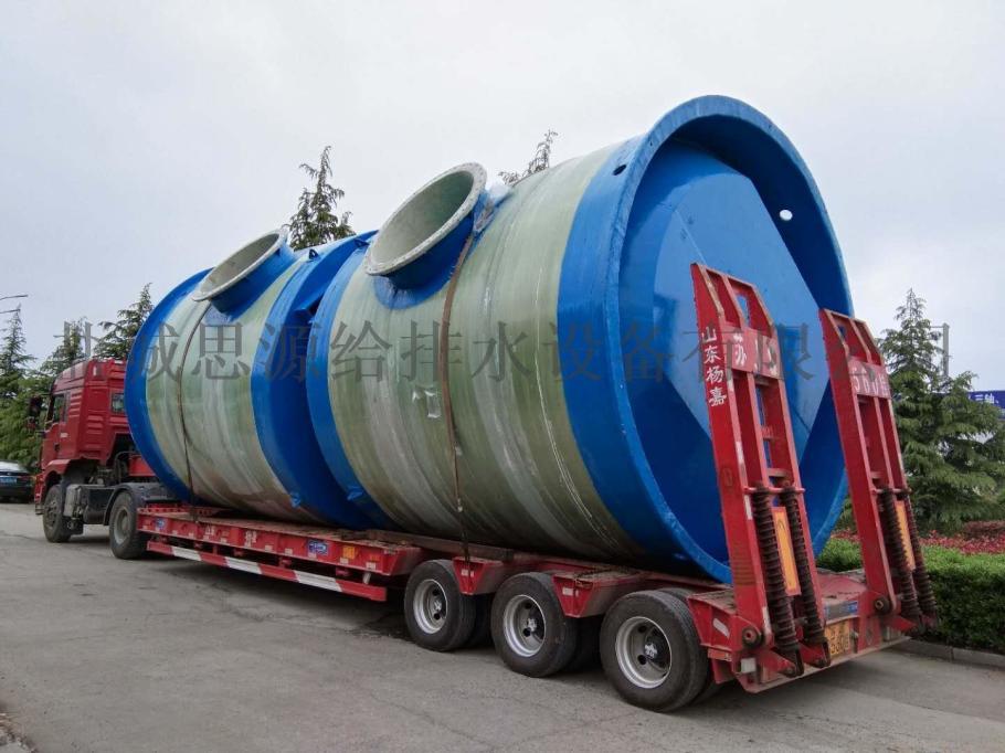 河北市政工程GRP一体化污水提升泵站项目案例134076205