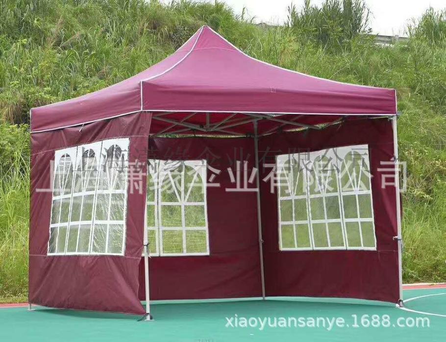 **隔离四角帐篷批发定制折叠消毒帐篷带透明围布帐篷116525102