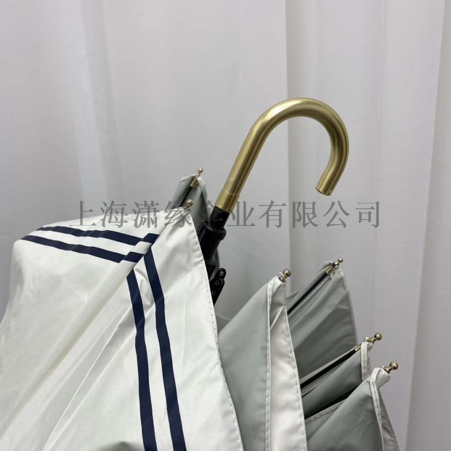 潮流创意女士弯柄折叠晴雨伞三折女式用雨伞生产厂家116056652