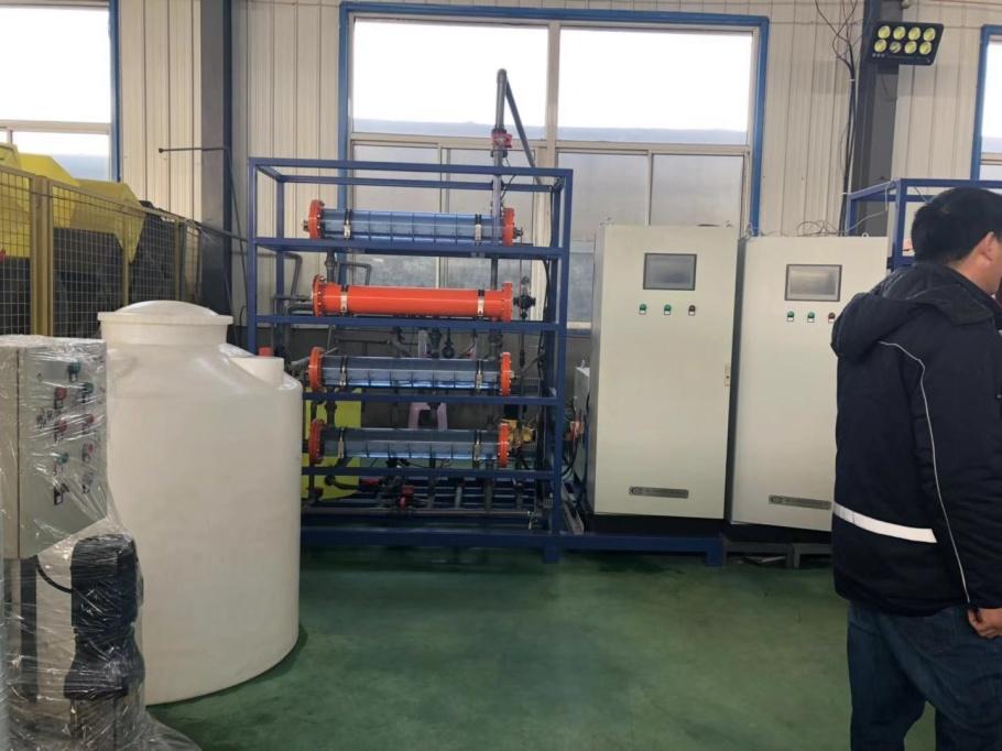 自來水廠消毒設備