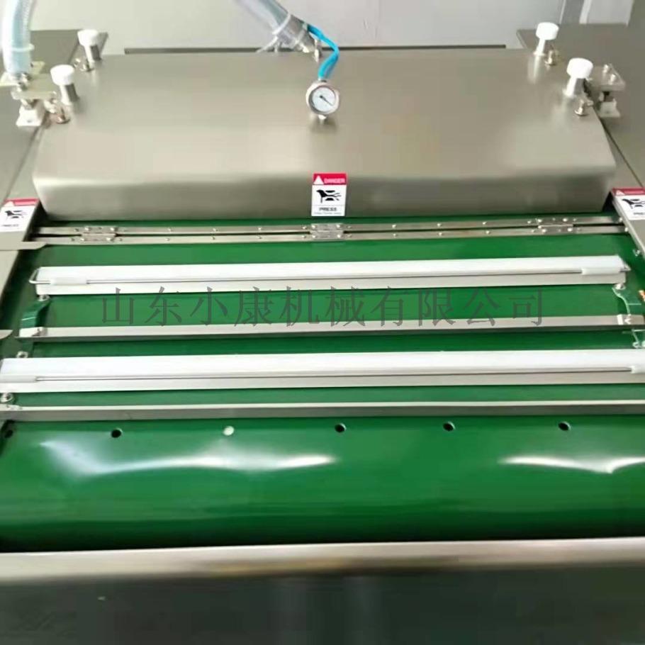 豆干滚动式真空包装机,双封条高产量豆干真空包装机100961882