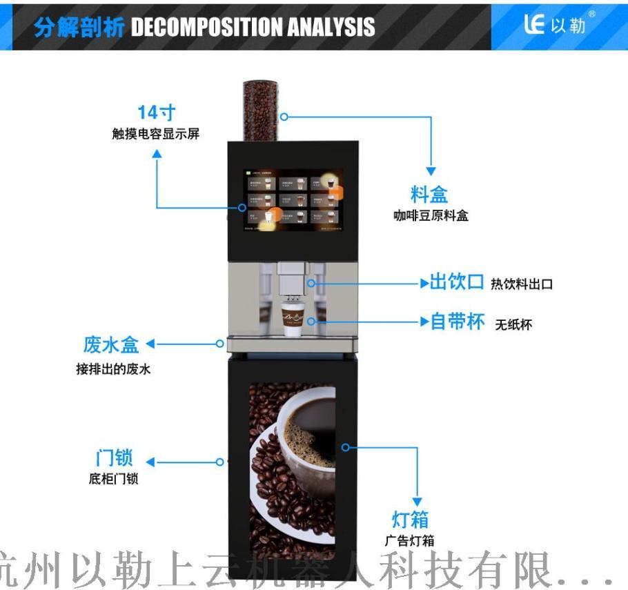 辦公室專用臺式小型現磨咖啡機LE307A133429265