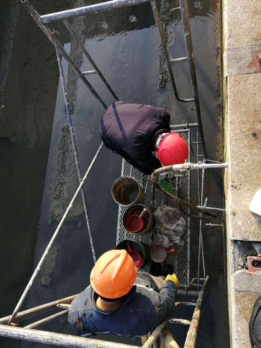 威海市水池底板縫防滲漏維修方案933422775