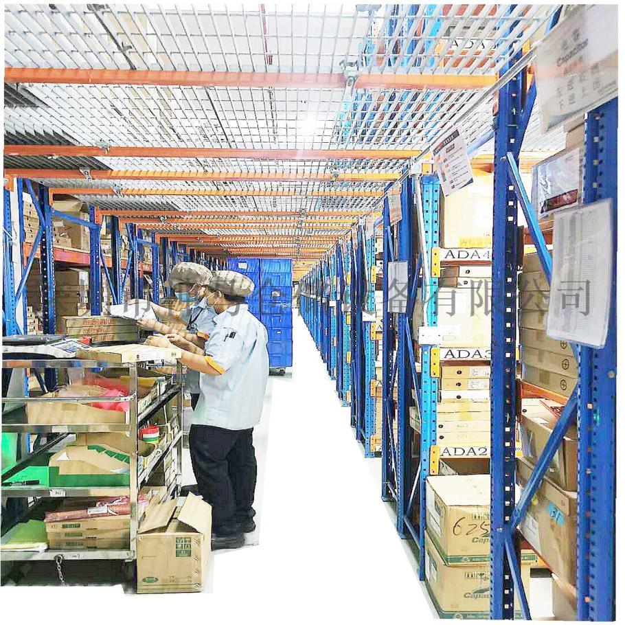货架仓储平台,阁楼式仓储货架,多层仓储管理货架941584875