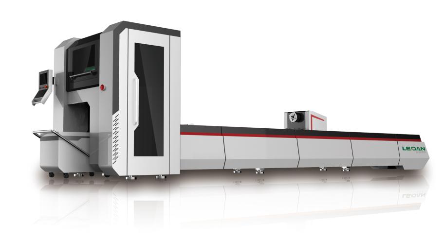 圆管激光切割机,光纤激光切管机厂家950556035