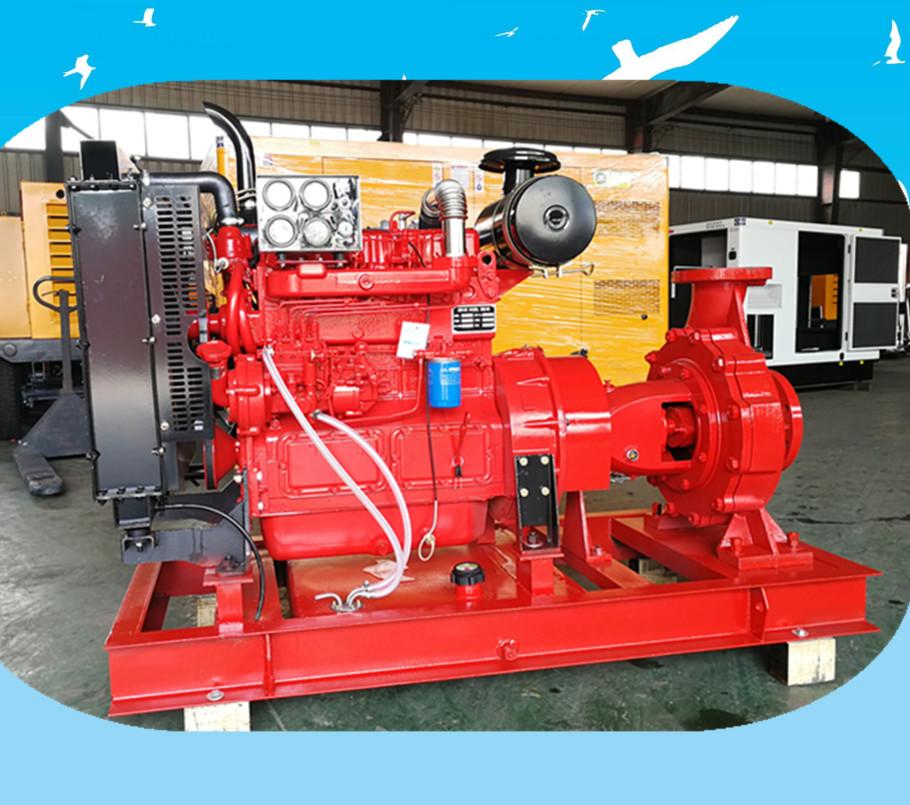 高扬程大流量柴油机水泵