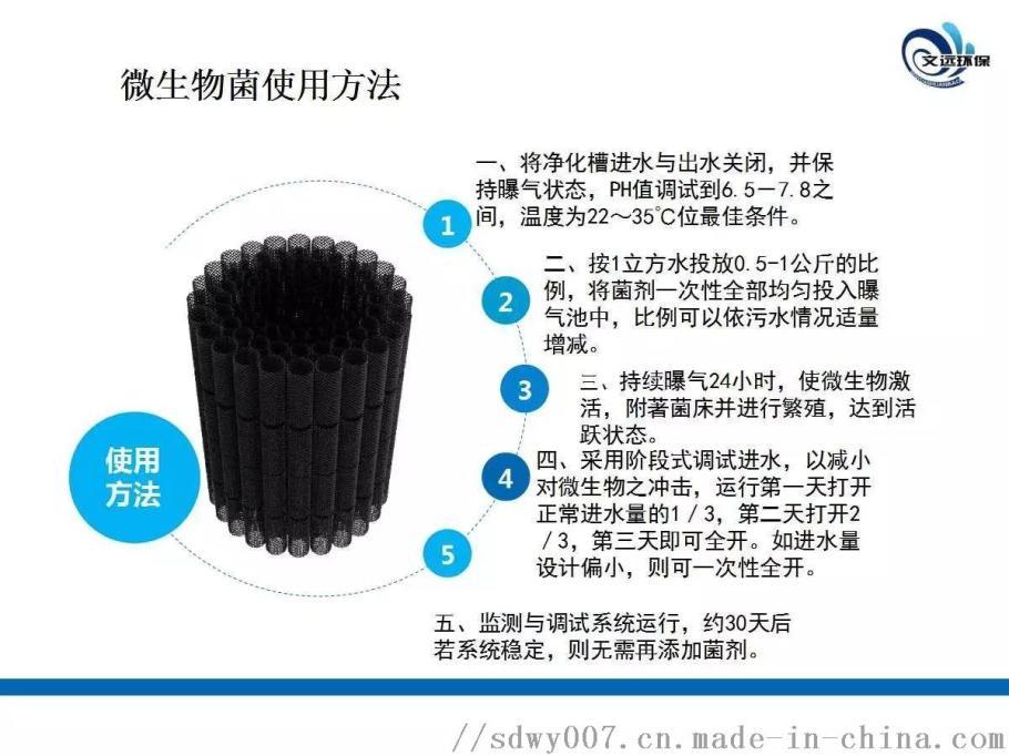 净化槽生物菌使用方法