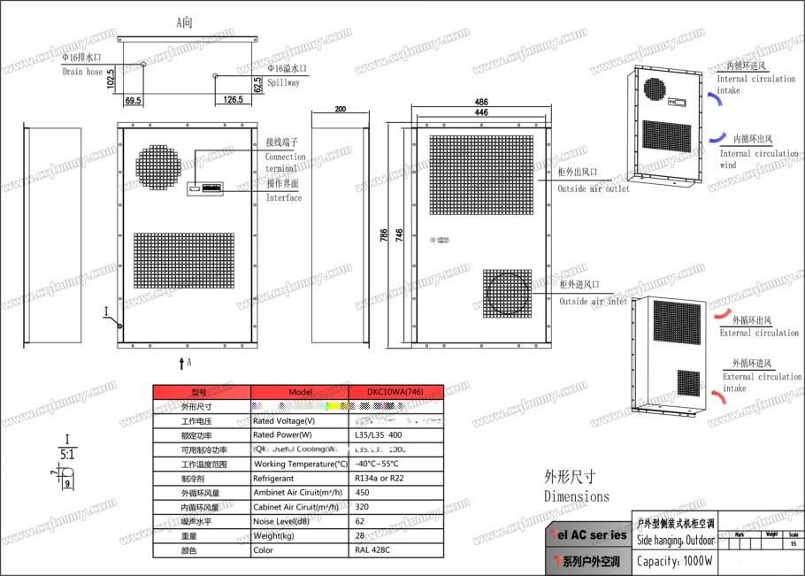 重庆电气柜空调DKC10WA(746)侧挂(1000W)-1.jpg