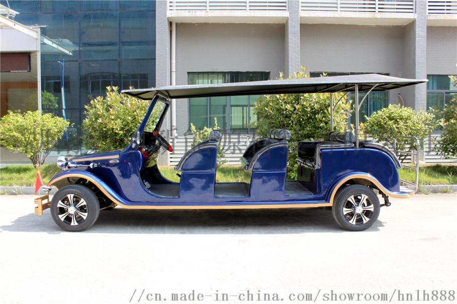 玻璃钢外壳新能源电动车宾利款豪华老爷车观光车808178075