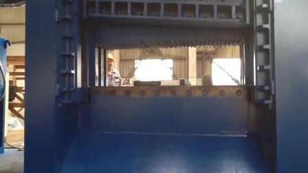 重废剪剪切机 630吨龙门式液压废钢剪断机