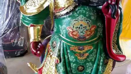 关公佛像视频关圣帝君神像关公佛像厂家