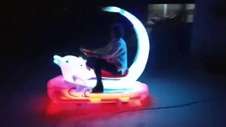 发光海豚车