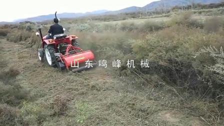 拖拉机牵引秸秆粉碎还田机
