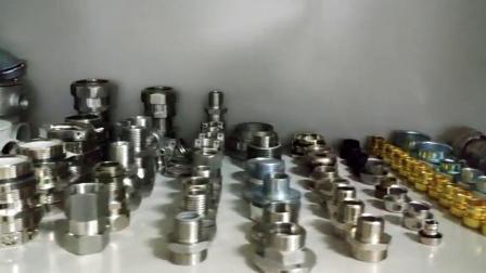 Driflex 厂家直销不锈钢45度接头 防水密封管件