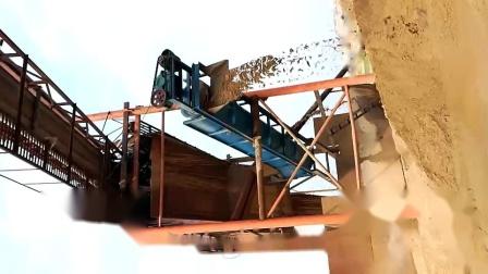螺旋洗砂机现场