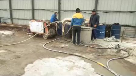 液压注浆泵现场操作视频
