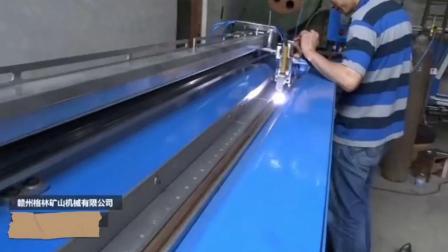 不鏽鋼鍍鋅板圓筒風管直角直縫焊機