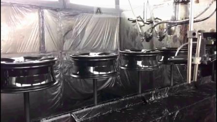 【廣東創智】汽車零件噴漆設備 塗裝設備 自動化設備