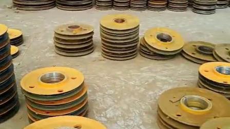 直销轧制滑轮组铸钢滑轮组