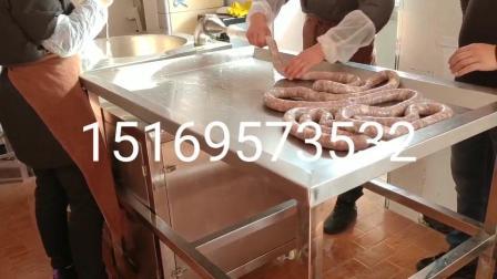 驢肉臘腸灌腸機-整套香腸製造機器-裝臘腸機