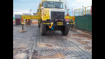 HDPE铺路板的应用实例