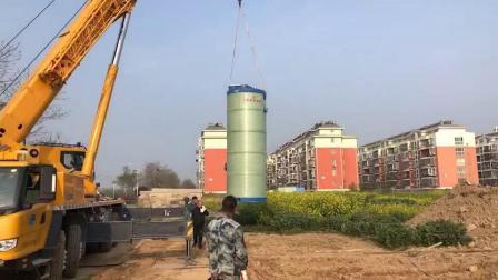 地埋式污水一体化预制提升泵站加工厂