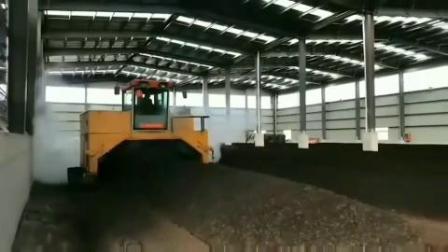 新型自動化豬糞有機肥生產線設備