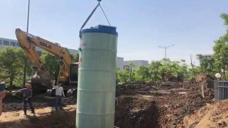 井筒地埋式一体化污水提升泵站15天发货