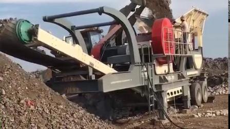 移動式礦山石料破碎機 新型反擊式碎石機廠家 可分期
