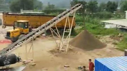 移动碎石机工作现场视频